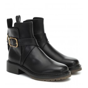 Chloé Franky leather ankle boots P00471150 z74LzVPY