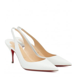 Christian Louboutin Clare Sling 80 leather pumps P00467027 0oQzSL3A