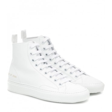 Common Projects Tournament High leather sneakers P00428847 q7OmqvdD