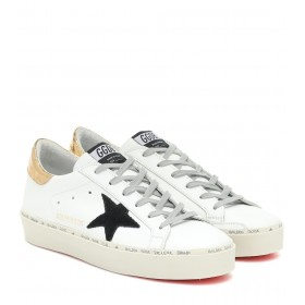 Golden Goose Exclusive to Mytheresa – Hi Star leather sneakers P00429501 FGKKMCjn