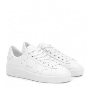 Golden Goose Pure Star leather sneakers P00434042 QHjJvjge