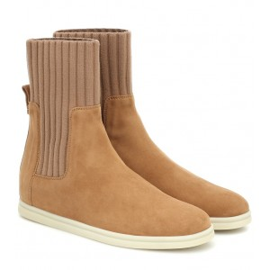 Loro Piana Cocoon suede ankle boots P00430566 ZWftyQSj