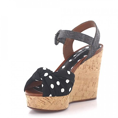 Dolce & Gabbana Wedge Sandals online shopping WOOTYNI