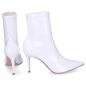 Gianvito Rossi Ankle Boots IMOGEN BOOTIE patent leather white online shopping GFWVEDX