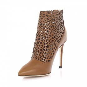 Jimmy Choo Ankle Boots Brown online shopping WZUVLFV
