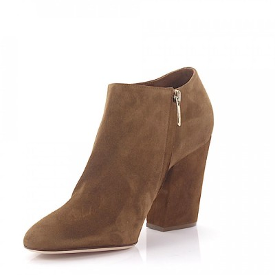 Sergio Rossi Ankle Boots Brown online shopping XHXLJUR