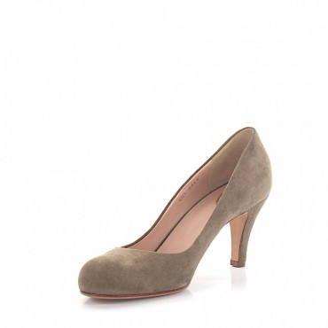 Unützer Pumps 6457 suede taupe online shopping OJFHESN