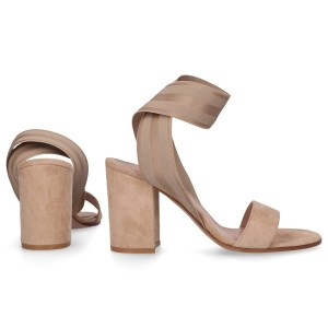 Gianvito Rossi Sandals EMILY suede beige online shopping IAPLHEB