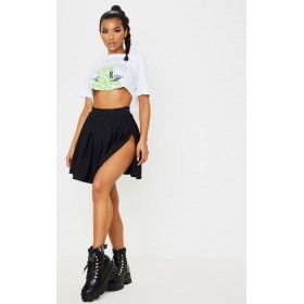 Black Pleated Tennis Skirt | Skirts | CLW4408