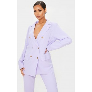Lilac Tailored Woven Blazer | Co-Ords | CMH1074