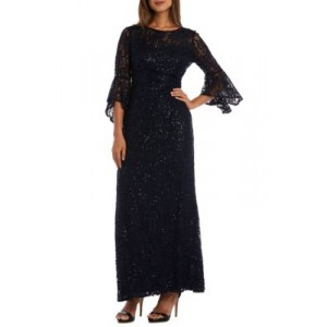 Nightway Mother of the Bride Lace Dress Navy qHs4Rb6Y