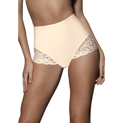 Bali® 2-Pack Firm Control Brief With Lace X054 Light Beige gsaF6qLG