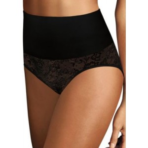 Maidenform® Tame Your Tummy Tailored Briefs Black Lace 5nvNBlfa