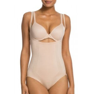 SPANX® Oncore Open-Bust Bodysuit-10129R Soft Nude H1wuCbcy