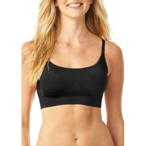Warners® Easy Does It Crop Top No Dig Wire-free Contour Bra - RM0911A Rich Black ZZbB2wbA