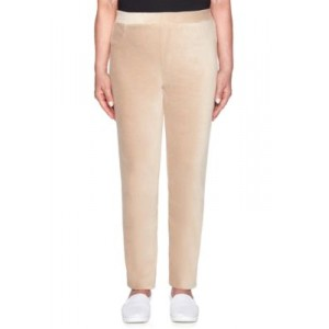 Alfred Dunner Home for the Holidays Knit Jeggings Latte IjcHSY27