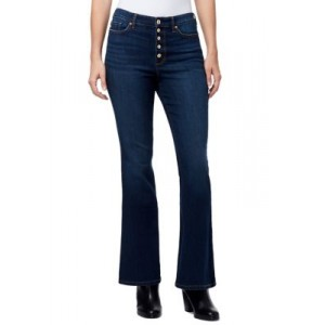 Chaps High Rise Flare Jeans in Short Length Naomi enE4Qhxl