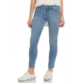 DKNY JEANS Womens Foundation High Rise Skinny Ankle Jeans Pure Blue 1IFMfhH7