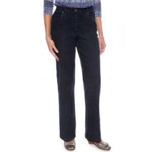 Ruby Rd Classic Elastic Side Jeans Blue TTHY54sD
