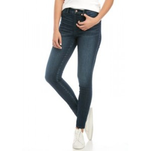 THE LIMITED Womens Pull On Skinny Jeans Extreme Dark Vintage qKeESney