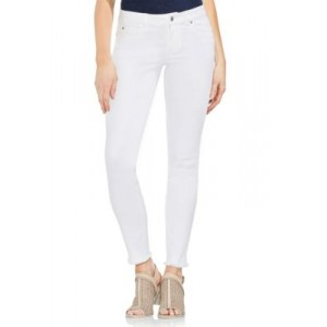 Vince Camuto White 5-Pocket Ankle Hem Jeans Ultra White hfMoBaW9