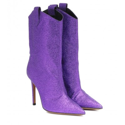 Alexandre Vauthier Exclusive to Mytheresa – Wayne glitter ankle boots P00430922 xIp7pGEa