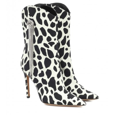 Alexandre Vauthier Exclusive to Mytheresa – Wayne printed ankle boots P00430925 iOOOGnWe