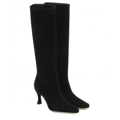 By Far Stevie 42 suede knee-high boots P00429400 vaMaqJ7c