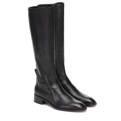 Christian Louboutin Tagastretch leather knee-high boots P00434067 vqDDJLUv