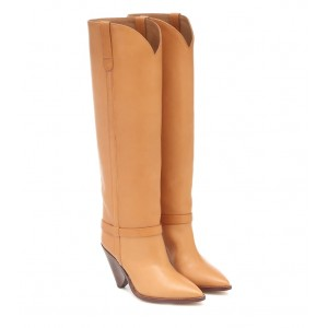 Isabel Marant Lenskee leather knee-high boots P00488746 rUt8joVy