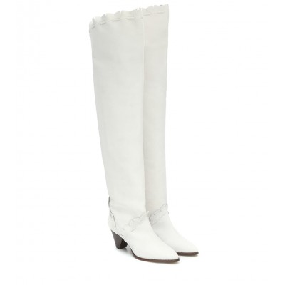 Isabel Marant Luiz suede over-the-knee boots P00457837 wlh3V9vk