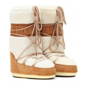 Moon Boot Classic shearling boots P00350581 zlhUhKgZ