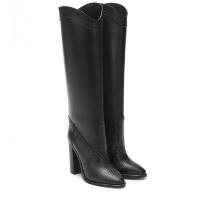 Saint Laurent Kate 105 leather knee-high boots P00463811 lGYhIhYC