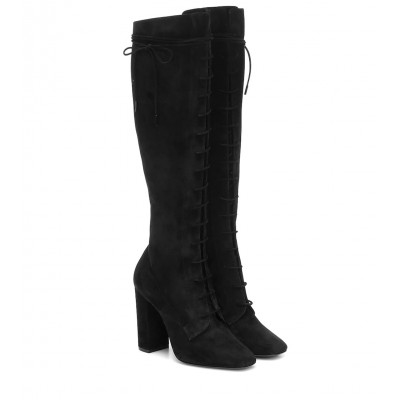 Saint Laurent Laura suede boots P00440227 ypugYyvy