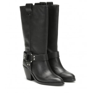 See By Chloé Texan leather boots P00392247 xVx5Qckb