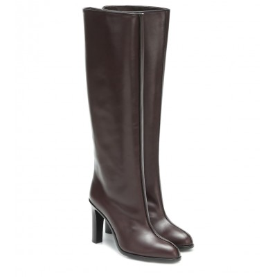 The Row Wide Shaft leather knee-high boots P00429198 y4HNS3Nc